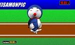 男子100m逆走
