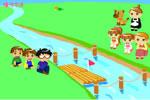 川渡りゲーム