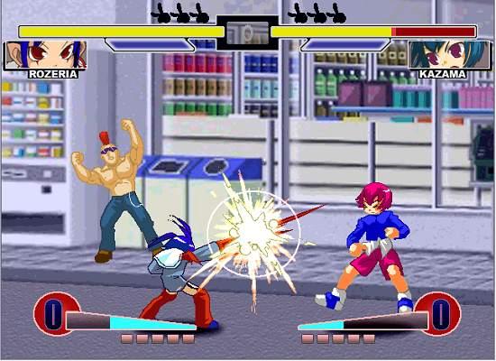 ダウンロードゲームZERO FIGHTERS