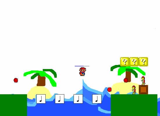 ダウンロードゲームスーパーマリオPC