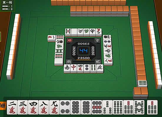 ダウンロードゲーム3Dリアル麻雀 雀神