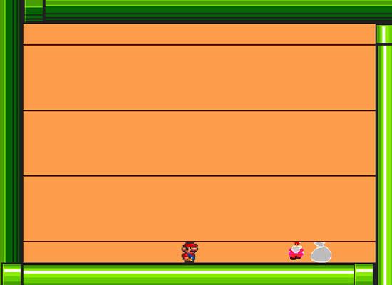 ダウンロードゲームメリークリスマス スーパーマリオ