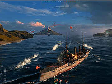 world of warships:公式サイト