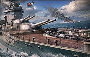 World of Warships(ワールド オブ ウォーシップス)スクリーンショット