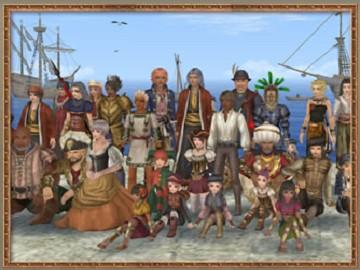 大航海時代 Onlineスクリーンショット