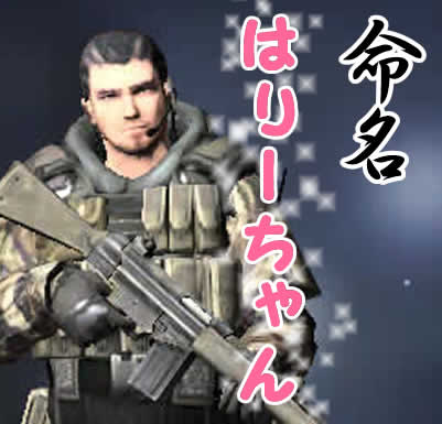 Alliance of Valiant Arms_はりーちゃん(男)