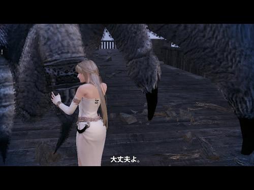 マビノギ英雄伝_スパイダー説得中、なかなか良い雰囲気? 2014_02_27_0107