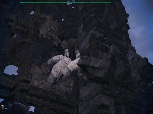 マビノギ英雄伝_鐘塔の壁を登るスパイダー 2014_02_27_0150