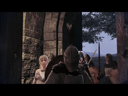 マビノギ英雄伝_プロローグムービー 鐘塔に潜入する兵士と巫女とベラ
