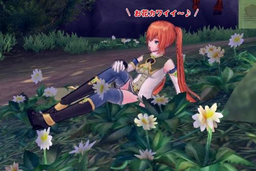 幻想神域_可愛いお花