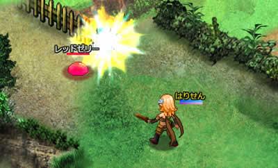 アルフヘイムの魔物使い_戦闘画面「攻撃」