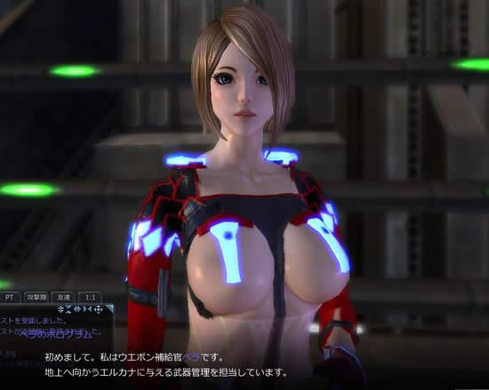 Scarlet Blade_NPCその1